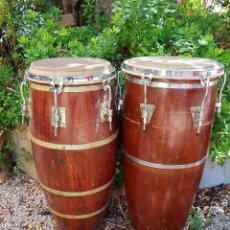 Instrumentos musicales: PAREJA DE TAMBOR. Lote 197621296
