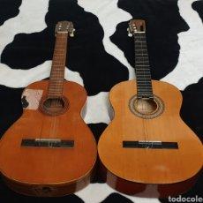 Instrumentos musicales: LOTE DE 2 ANTIGUAS GUITARRAS ESPAÑOLAS PARA REPARAR O RESTAURAR. Lote 197672098