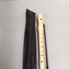 Instrumentos musicales: FLAUTA ANTIGUA ALPHA. Lote 198193971