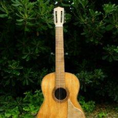 Instrumentos musicales: GUITARRA FLAMENCO ANTIGUA DAMAS SEVILLA 1940-1950. Lote 198292740