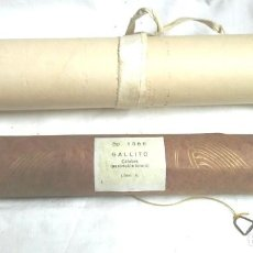 Instrumentos musicales: PASODOBLE TORERO EL GALLITO Y LA OTRA SIN TITULO PARA PIANOLA. MED. 33 CM TOTAL EJE. Lote 198950727