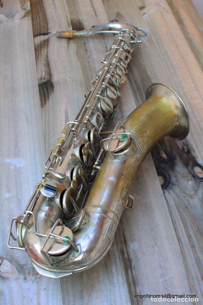 SAXOFÓN ANTIGÜO MARTIN HANDCRAFT.1925.RESTAURADO. (Música - Instrumentos Musicales - Viento Madera)