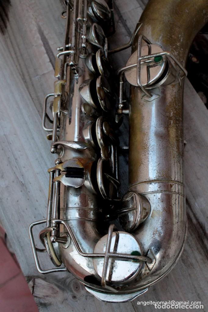 Instrumentos musicales: Saxofón antigüo Martin Handcraft.1925.RESTAURADO. - Foto 3 - 198975148