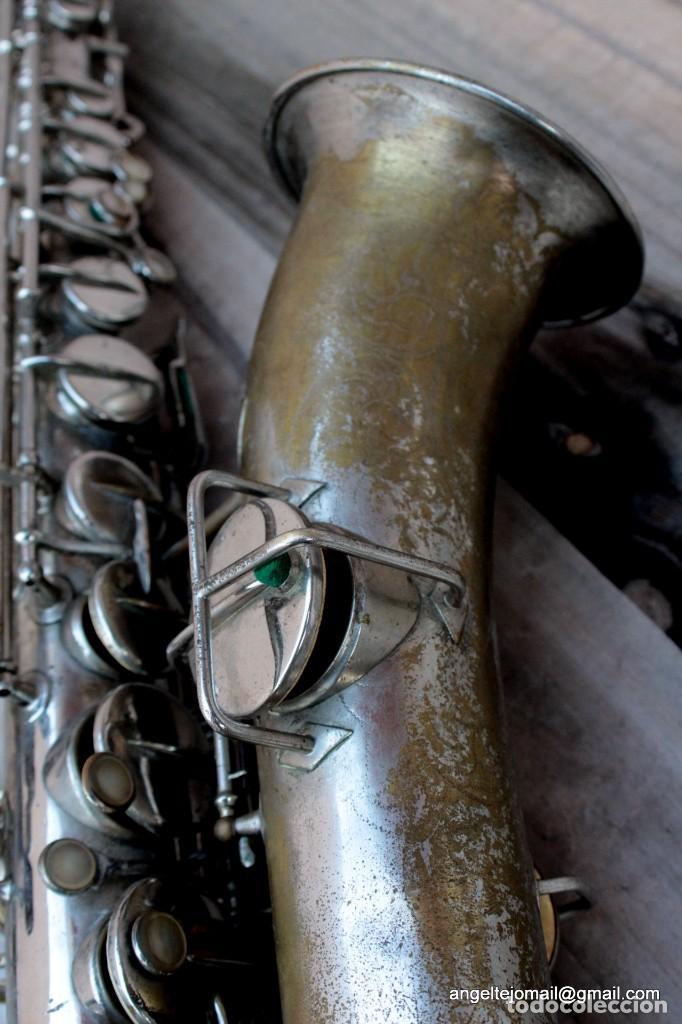 Instrumentos musicales: Saxofón antigüo Martin Handcraft.1925.RESTAURADO. - Foto 4 - 198975148