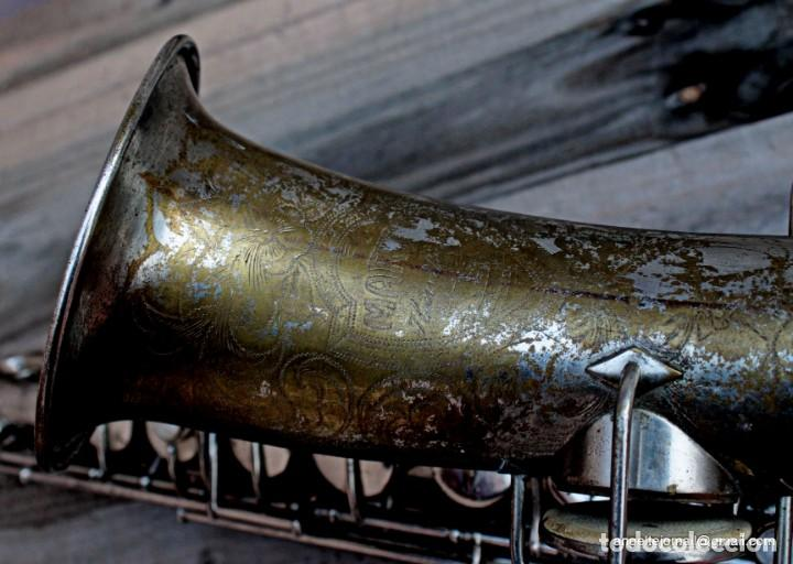 Instrumentos musicales: Saxofón antigüo Martin Handcraft.1925.RESTAURADO. - Foto 6 - 198975148