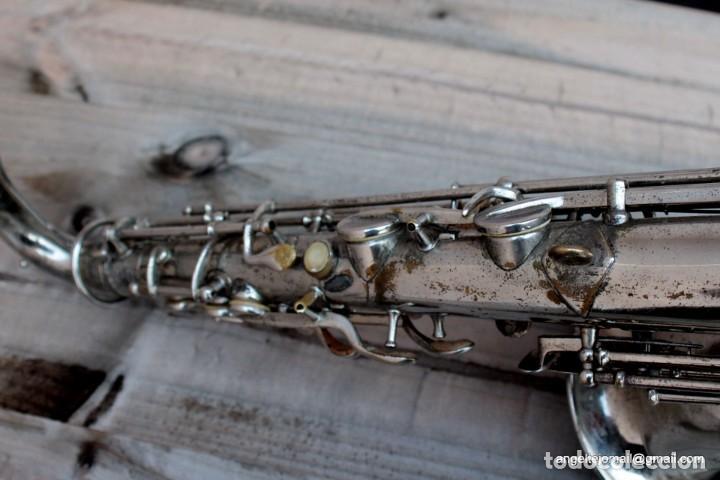 Instrumentos musicales: Saxofón antigüo Martin Handcraft.1925.RESTAURADO. - Foto 10 - 198975148
