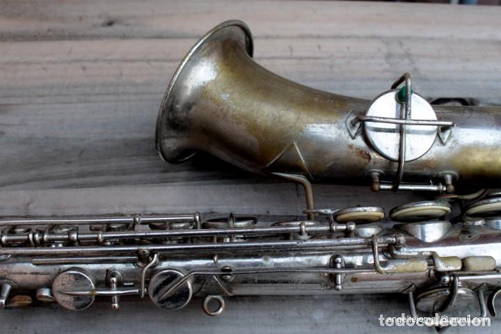 Instrumentos musicales: Saxofón antigüo Martin Handcraft.1925.RESTAURADO. - Foto 12 - 198975148