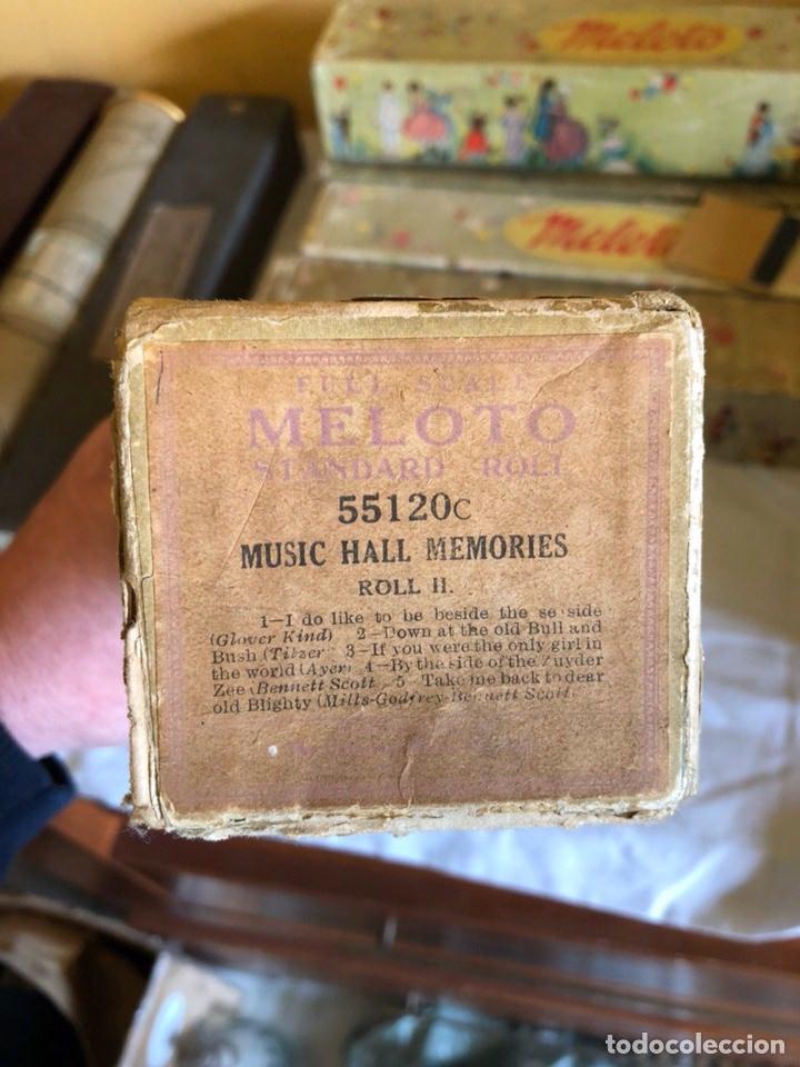 Instrumentos musicales: Lote de 11 tollos de pianola antiguos - Foto 7 - 199043112