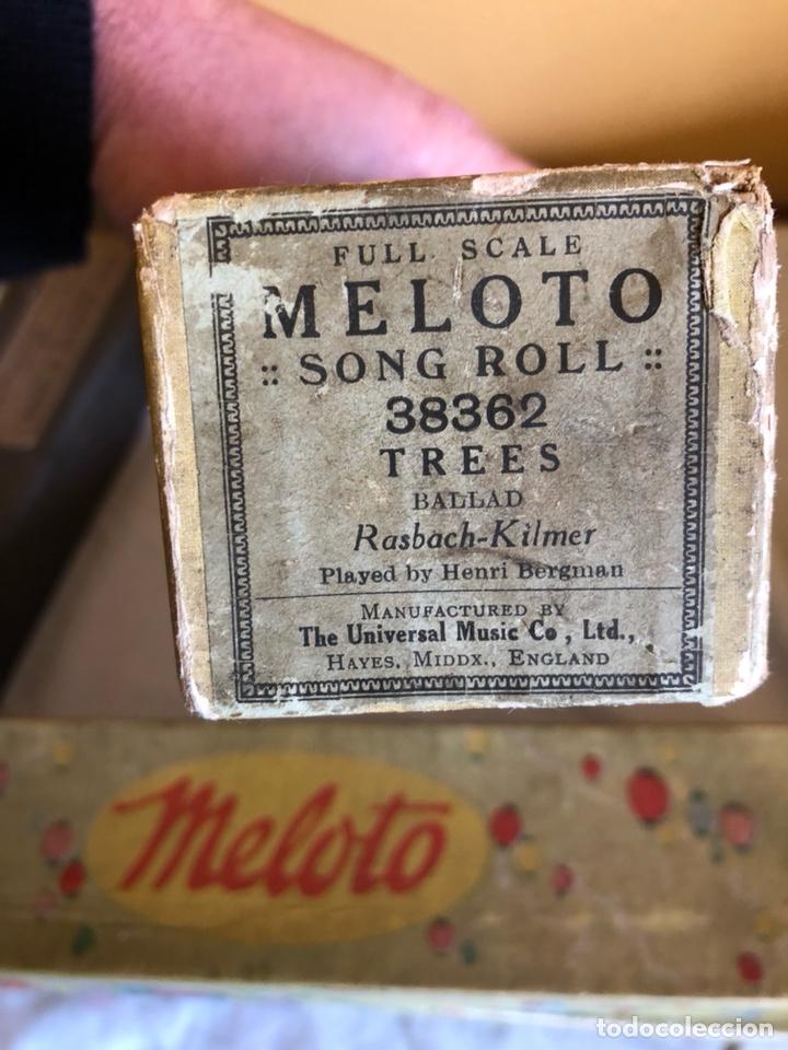 Instrumentos musicales: Lote de 11 tollos de pianola antiguos - Foto 13 - 199043112