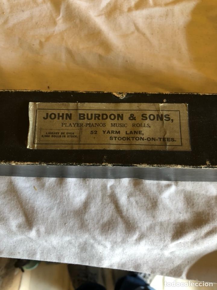 Instrumentos musicales: Lote de 11 tollos de pianola antiguos - Foto 16 - 199043112