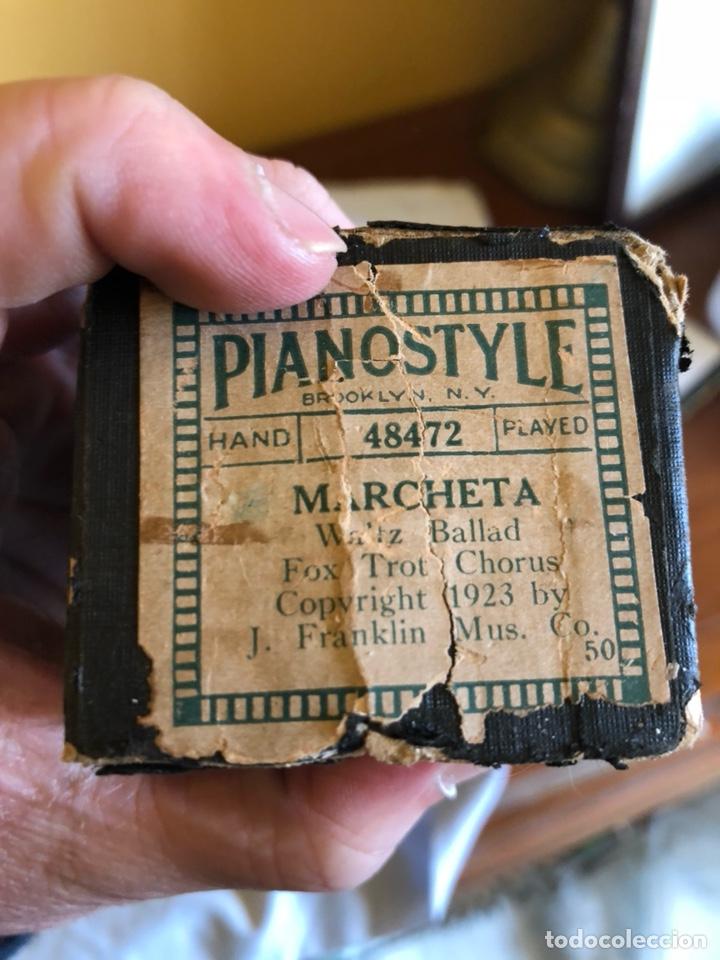 Instrumentos musicales: Lote de 11 tollos de pianola antiguos - Foto 19 - 199043112
