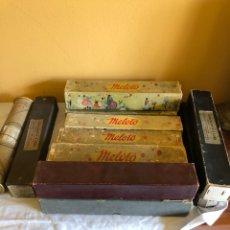 Instrumentos musicales: LOTE DE 11 TOLLOS DE PIANOLA ANTIGUOS. Lote 199043112