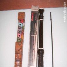 Instrumentos musicales: LOTE DE FLAUTAS. Lote 199052275