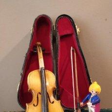Instrumentos musicales: VIOLÍN VIOLA EN MINIATURA 18 CM. Lote 199133382