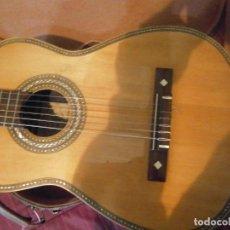 Instrumentos musicales: ¡¡¡IMPORTANTE GUITARRA¡¡RICARDO,SANCHIS¡¡DE,PALO¡SANTO,,,UNICA EN TC¡¡¡NOSE ACMITE DEBOLUCIONES¡¡. Lote 199387790