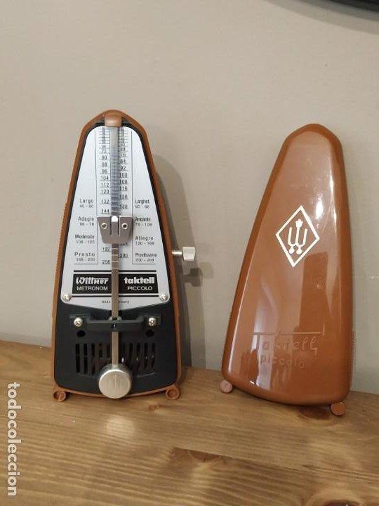 TAKTELL PICCOLO METRÓNOMO MARRÓN (Música - Instrumentos Musicales - Accesorios)