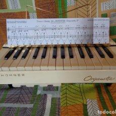 Instrumentos musicales: HOHNER ORGANETTA 3, ANTIGUA ALEMAN AÑO 1957. Lote 200138587
