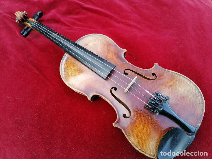VIOLÍN 3/4 . TRES CUARTOS .FINALES DEL SIGLO XIX O PRINCIPIOS DEL XX . (Música - Instrumentos Musicales - Cuerda Antiguos)