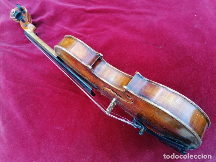 Instrumentos musicales: Violín 3/4 . Tres cuartos .Finales del siglo XIX o principios del XX . - Foto 2 - 200848307