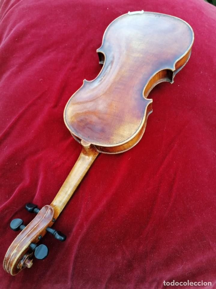 Instrumentos musicales: Violín 3/4 . Tres cuartos .Finales del siglo XIX o principios del XX . - Foto 3 - 200848307