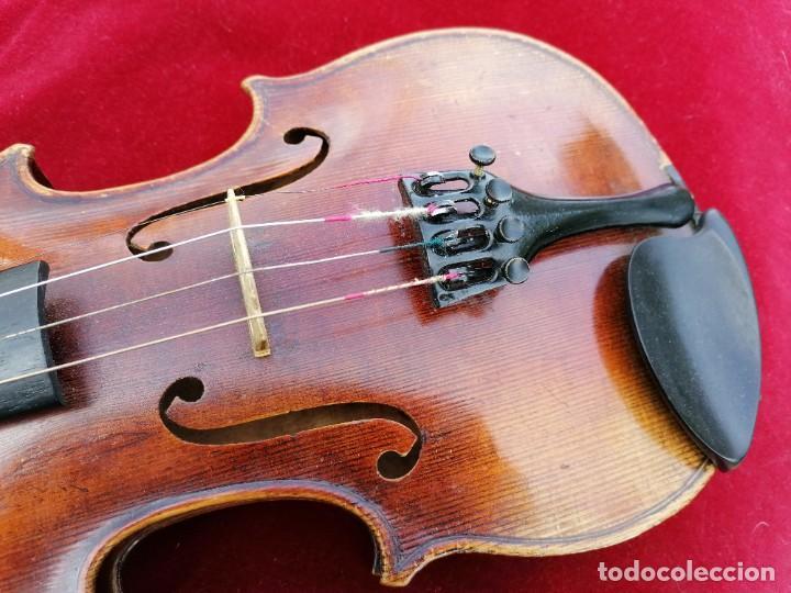 Instrumentos musicales: Violín 3/4 . Tres cuartos .Finales del siglo XIX o principios del XX . - Foto 4 - 200848307