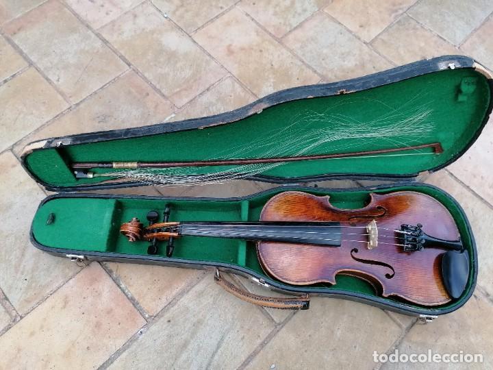 Instrumentos musicales: Violín 3/4 . Tres cuartos .Finales del siglo XIX o principios del XX . - Foto 6 - 200848307