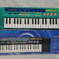 Instrumentos Musicais: ÓRGANO, TECLADO SUPERB SOUND EK-911, FUNCIONANDO . Lote 200934722