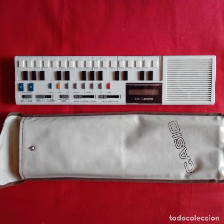 TECLADO ELECTRÓNICO ORGANO CASIO VL-TONE 1 BUEN ESTADO. AÑOS 80 VINTAGE (Música - Instrumentos Musicales - Teclados Eléctricos y Digitales)