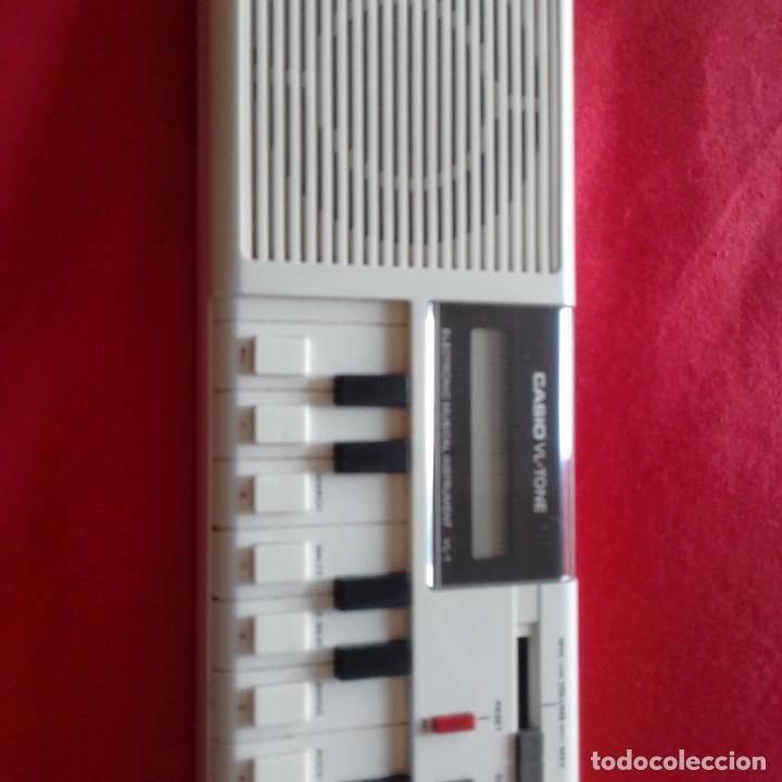 Instrumentos musicales: TECLADO ELECTRÓNICO ORGANO CASIO VL-TONE 1 BUEN ESTADO. AÑOS 80 VINTAGE - Foto 4 - 201201007