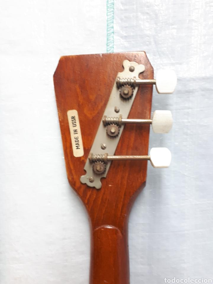Instrumentos musicales: BALALAICA INSTRUMENTO DE CUERDA ANTIGUO DE 3 CUERDAS - Foto 5 - 201252082