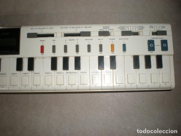 Instrumentos musicales: TECLADO CASIO VL-TONE,AÑOS 70 - Foto 4 - 202450751