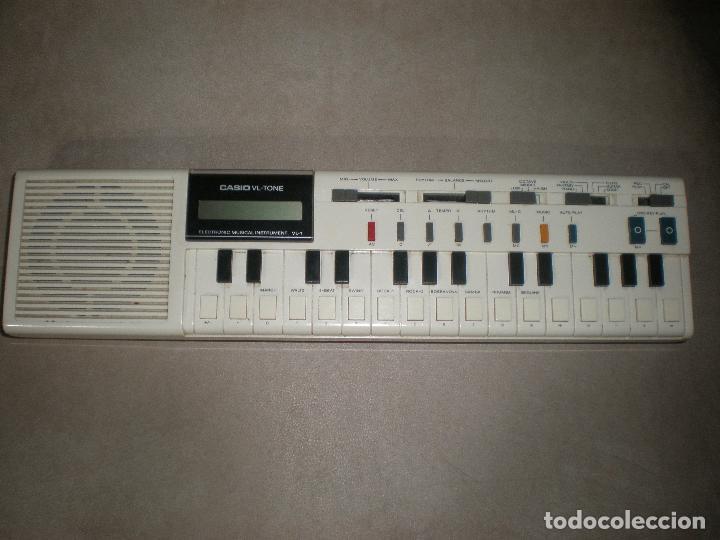 Instrumentos musicales: TECLADO CASIO VL-TONE,AÑOS 70 - Foto 7 - 202450751