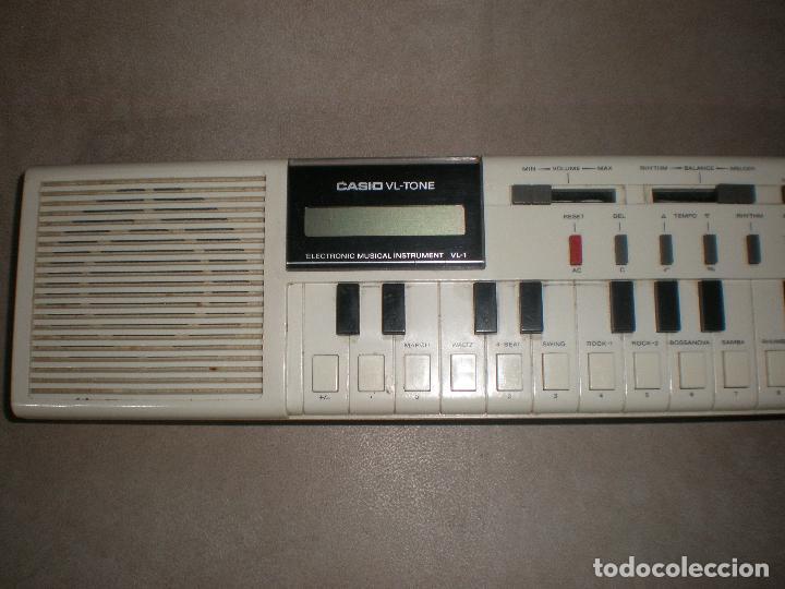 Instrumentos musicales: TECLADO CASIO VL-TONE,AÑOS 70 - Foto 8 - 202450751
