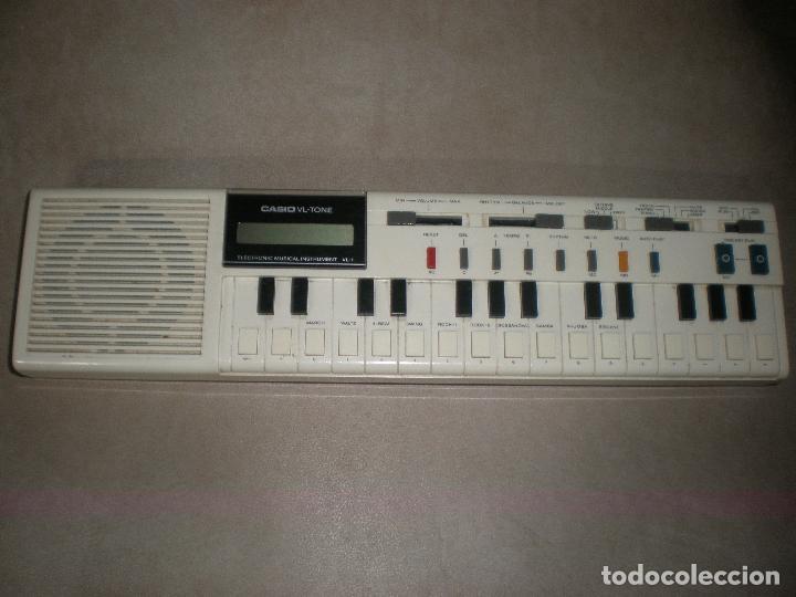TECLADO CASIO VL-TONE,AÑOS 70 (Música - Instrumentos Musicales - Teclados Eléctricos y Digitales)
