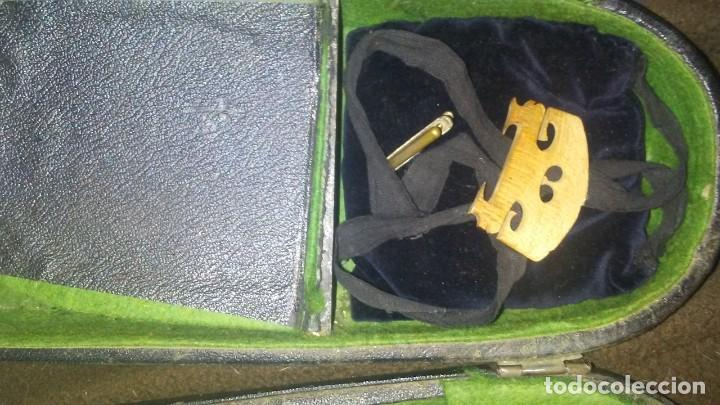 Instrumentos musicales: ANTIGUO VIOLIN INTERIOR FIRMA Antonius Stradiuarius MALETIN 76 cm violin 59 cm x 36 longitud 620,00 - Foto 19 - 202556562