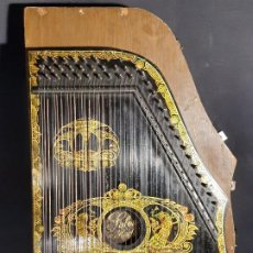 Instrumentos musicales: CÍTARA CON CAJA. SALON HARFE. ALEMANIA. SIGLO XIX-XX.. Lote 202798308