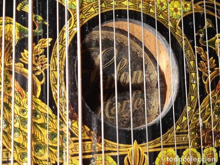 Instrumentos musicales: Cítara con caja. Salon Harfe. Alemania. Siglo XIX-XX. - Foto 9 - 202798308