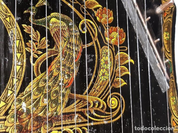 Instrumentos musicales: Cítara con caja. Salon Harfe. Alemania. Siglo XIX-XX. - Foto 10 - 202798308