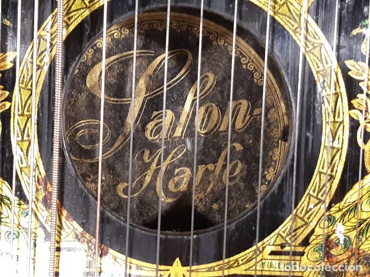 Instrumentos musicales: Cítara con caja. Salon Harfe. Alemania. Siglo XIX-XX. - Foto 17 - 202798308