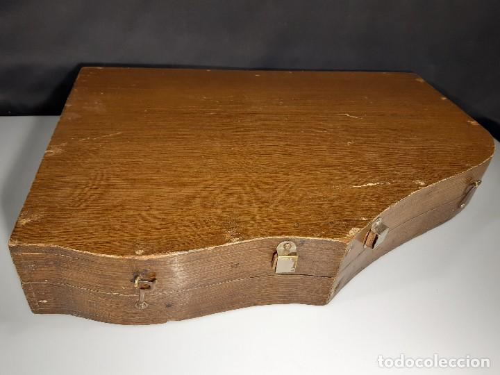 Instrumentos musicales: Cítara con caja. Salon Harfe. Alemania. Siglo XIX-XX. - Foto 29 - 202798308