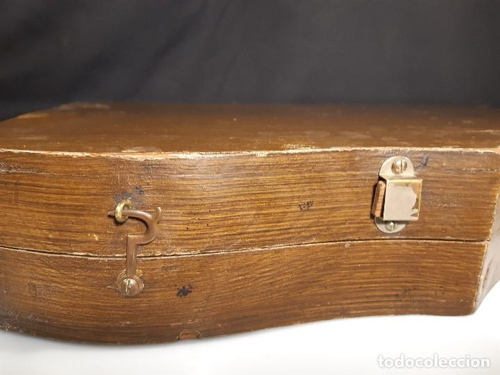 Instrumentos musicales: Cítara con caja. Salon Harfe. Alemania. Siglo XIX-XX. - Foto 30 - 202798308
