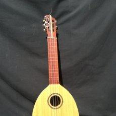 Instrumentos musicales: TIMPLE CANARIO HECHO CON CALABAZA DE AGUA Y MARQUETERÍA. Lote 203015887
