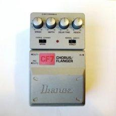 Instrumentos musicales: (PARA REPARAR) IBANEZ CF7 CHORUS / FLANGER - PEDAL DE EFECTOS PARA GUITARRA ELÉCTRICA - NO FUNCIONA. Lote 203016150