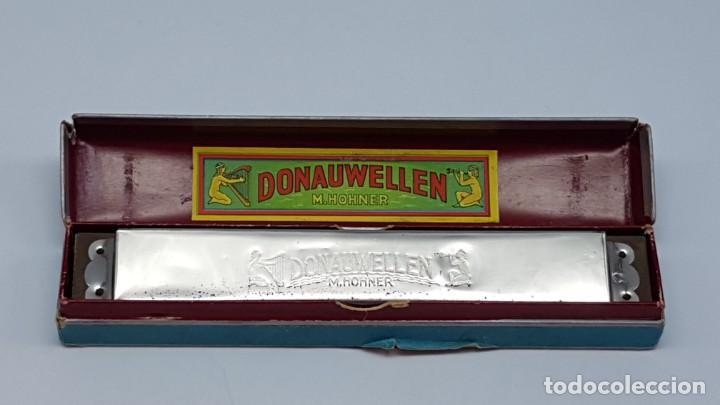 Instrumentos musicales: ARMÓNICA HOHNER DONAUWELLEN CON ESTUCHE ORIGINAL ( ANTIGUA ) - Foto 12 - 203062681