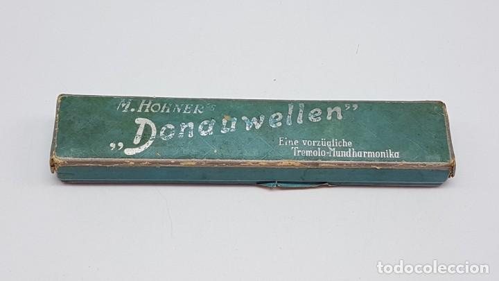 Instrumentos musicales: ARMÓNICA HOHNER DONAUWELLEN CON ESTUCHE ORIGINAL ( ANTIGUA ) - Foto 13 - 203062681