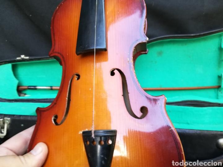 Instrumentos musicales: Viejo violín ANTONIUS STRADIVARIUS ( reproducción) - Foto 3 - 203156526