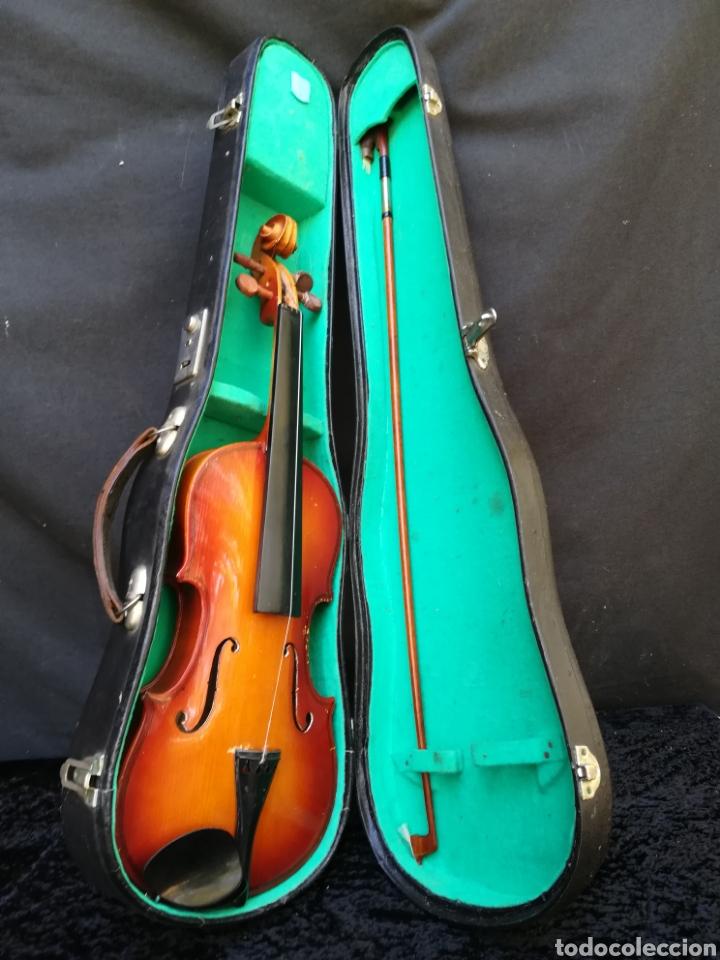 Instrumentos musicales: Viejo violín ANTONIUS STRADIVARIUS ( reproducción) - Foto 9 - 203156526