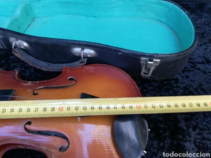 Instrumentos musicales: Viejo violín ANTONIUS STRADIVARIUS ( reproducción) - Foto 10 - 203156526