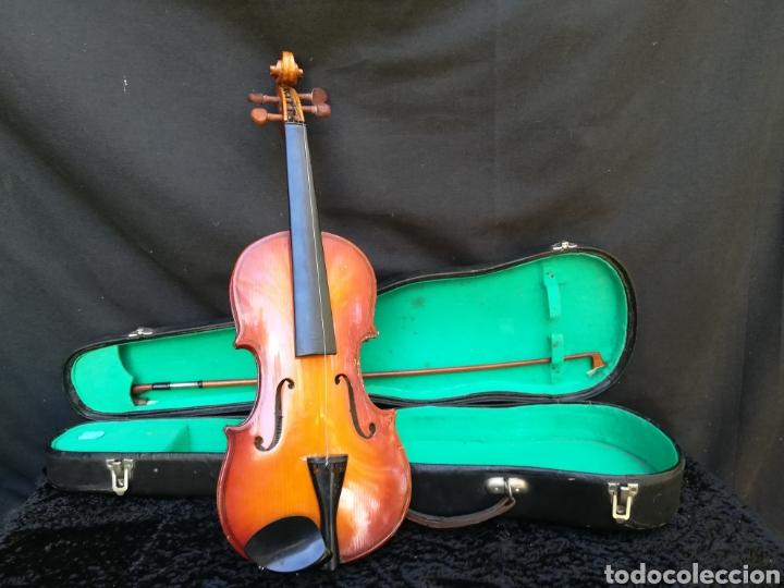 VIEJO VIOLÍN ANTONIUS STRADIVARIUS ( REPRODUCCIÓN) (Música - Instrumentos Musicales - Cuerda Antiguos)