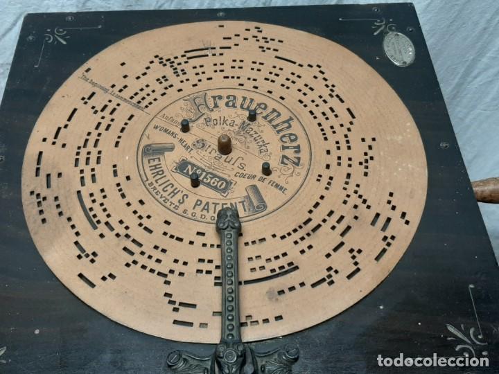 Instrumentos musicales: CAJA DE MUSICA ARISTONETTE DE ADOLFO GASCON ( ALMACEN DE MUSICA). MURCIA. CO XIX - Foto 2 - 203827501